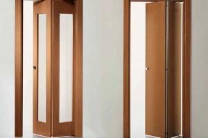 Компактные межкомнатные двери-гармошка