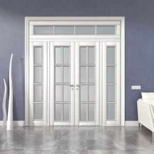 Міжкімнатні двостулкові розсувні двері: як в палацовій атмосфері>