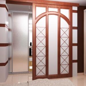 Удобные и эстетичные межкомнатные двери на рельсах>