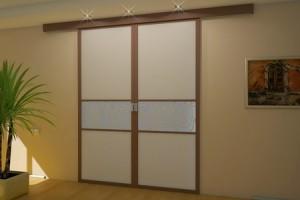 Межкомнатные двери на роликах: какие механизмы используются в их конструкции