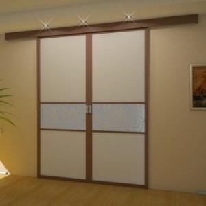 Міжкімнатні двері на роликах: які механізми використовуються в їх конструкції>