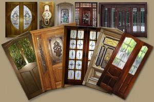 Міжкімнатні двері із вітражами