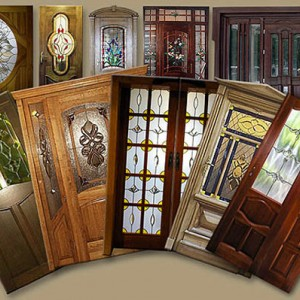 Межкомнатные двери с витражами>