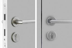 Міжкімнатні двері з замками від виробника