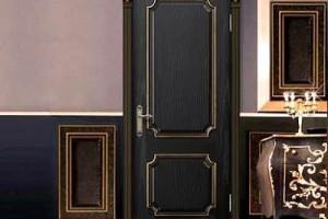 Міжкімнатні двері з патиною