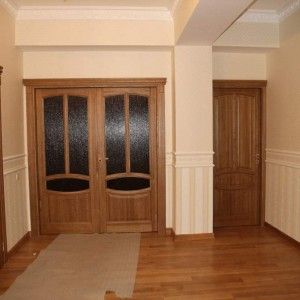 Дерев'яні двері в квартиру>