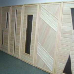 Дерев'яні двері 60 мм>