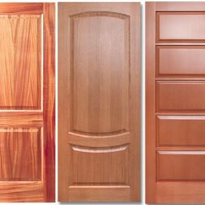 Дерев'яні двері на замовлення>
