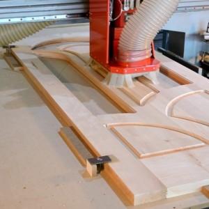 Виготовлення дерев'яних дверей>