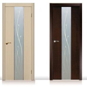 Межкомнатные двери из венге и дуба>