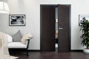 Двери из черного дуба – лучший выбор
