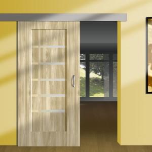 Міжкімнатні двері 600 мм>
