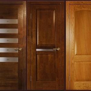 Двери из массива дерева>