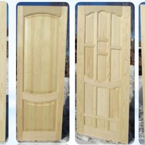 Двери из массива сосны неокрашенные: в чём секрет их популярности>