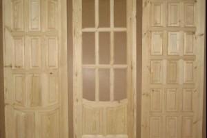 Дачные деревянные двери